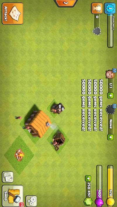 screenshot clash of clans private server